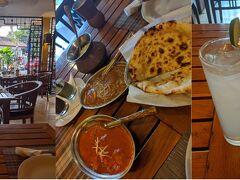 ゆるゆるしているとあっという間に夕食の時間。 「gateway of india」でカレーです。 トマトカレーと卵のカレー、すごく美味しい!お気に入りのお店です。 卵のカレーは確かIDR 50,000位だったんですけどホント美味しかった!