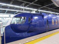 ★★ 8/7(GMT+9) ★★ 大阪>南海なんば駅>ラピート 配偶者は数日前に先発!!現地(ブルガリア)集合です。関西空港までラピート利用しまた。