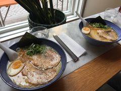 お昼は旧市街地ガムラスタンのラーメンCafé Stiernan 日本で修業しただけあっておいしいです。 夜は営業していません。
