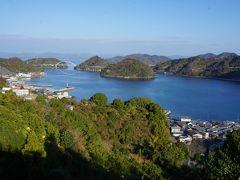 さらに上ると御手洗の市街や大崎下島から平羅島、中ノ島、岡村島を繋ぐ安芸灘オレンジラインまで。箱庭のような美しい眺めが見えてきました。