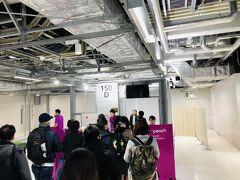 初めて成田第3ターミナルを使いました。 壁がパーティションだったり、まだ作りかけの感じがビシバシしました。