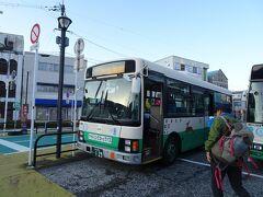 榛原駅から奈良交通の霧氷バスで高見登山口へ(1080円)。増発されるようで、満席となったので定刻より15分も早く出発しました。  霧氷バス https://www.narakotsu.co.jp/rosen/rinji/index-muhyou.html