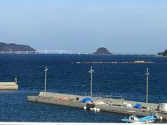 道の駅北浦街道から見た角島大橋   この後我が家に向けて移動します。途中お昼を取って6時間の移動になります。 これで6泊7日の旅行記はおしまいです
