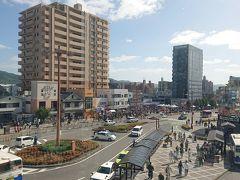やって来たのは西条駅 日本を代表する酒所