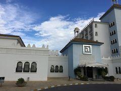 Abades Benacazon Hotel and Spa アバデス  ベナカゾン  ホテル アンド スパです。 前日泊まったAbades Nevada Palaceと同系列のホテルです。