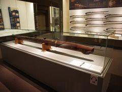 慶長15年(1610年)の銘がある大火縄銃が展示してありました。 でかい!!