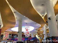 お部屋で少し寛いだところで、ホテルのシャトルバスに乗って、VIVOシティへ。 とても綺麗で、大きなショッピングモール。