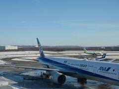 1月9日木曜日 12時30分発NH62で東京羽田空港へ向かいます。