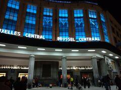 ブリュッセル中央駅でーす。駅に近いホテルを取ってよかった。 結構人がたくさんいました! 何かおもしろいお店とかあればよかったんだけどー