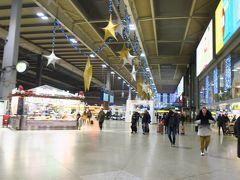 17時前にミュンヘン駅まで戻ってきました。 少しお土産のワインやお菓子を探すため、ミュンヘン駅周辺のスーパーやデパートを散策しました。