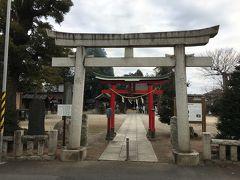 次の立ち寄り地は稲荷神社です。