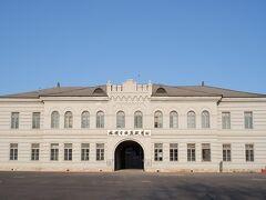 ロシア人が建てた監獄を、日本軍がさらに増改築したそう。  おもに中国人や朝鮮人を収容したのだそう。