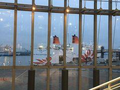 1/25の夕方、南港へ。 今回は船旅です。 船も海も島も好きなのですが、10時間を超える航海は初めてでドキドキ