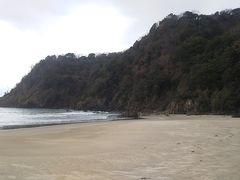熊井浜(駐車場から悪路の散策路を徒歩五分)