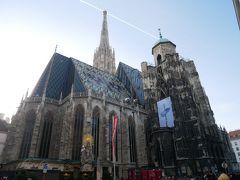 こちらはウィーンのシンボルシュテファン大聖堂!