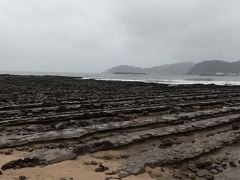 鬼の洗濯板。洗濯岩もあります。海岸線には同じようなところが結構あります。