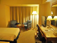 「ホテルセンチュリー静岡」へ到着 寝るだけのお部屋です。