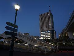 この歩道橋を渡れば舞子駅です。