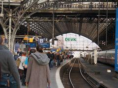 Koeln-Hbfに停車。  フランクフルト行きの列車なので、途中下車。