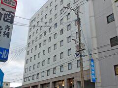 急遽予約した、ホテル ウエストコート奄美に到着。 実業団の陸上部が合宿中でした。