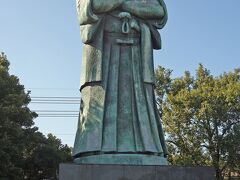 日本一の大きさの西郷隆盛像です。