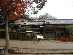 青葉茶屋前。 定番のルートです。