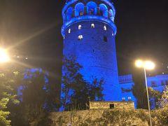 夜のガラタ塔