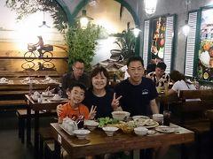 とりあえずチェックインしホーチミン初のごはんへ。 今日は五行山山登りからのホーチミン入りで疲れていたので、近くのヴィンコムセンターのレストラン街でベトナム料理。