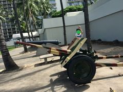 フォートデロシービーチパーク内≪U.S. ARMY MUSEUM OF HAWAII≫へ。