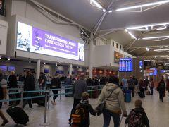 6:58 ブリストル国際空港に到着