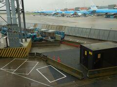 11:35 アムステルダム・スキポール空港に到着。