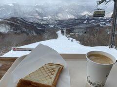 やってきました。 山頂にある喫茶店スカイテラスあさひです。