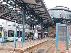 バスで広島市街地に戻り、横川駅前で下車。