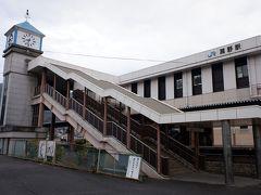 瀬野駅に到着、駅前はちょっと寂しいです。