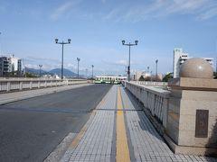 こちらがT字型の相生橋。
