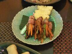 最初の夕飯は、palm@18でタイ料理