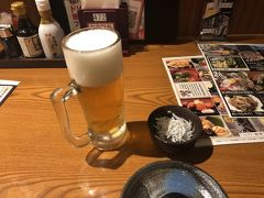 ホテルにチェックインした後、なぜだか元気が出てきたので、一人で飲みに繰り出します。