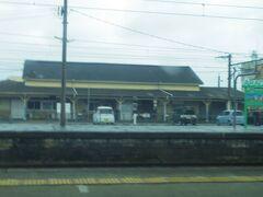 北から来ると、この駅から熊本県となる荒尾駅です。