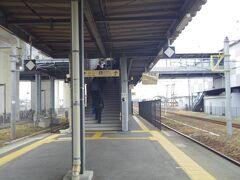 宇土駅で乗り換えました。
