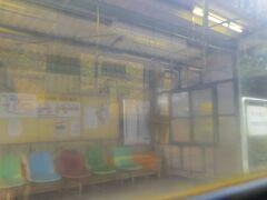 赤瀬駅です。秘境駅としてTV番組でも取り上げられていた駅です。
