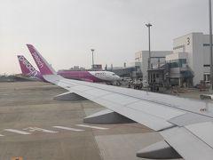 福岡空港はきれいになっていました。東京へ帰ります。