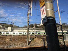 大船駅を通る時、大観音像を撮る失敗