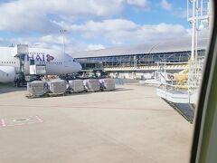 前回の復路で利用した仁川→関空の残りで大韓航空利用でした。