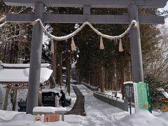 お腹を満たして、戸隠神社の中社へ