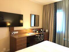ホテルの部屋です。