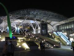 徒歩で台中駅へ移動。