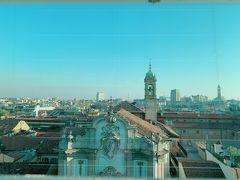そしてアルマーニホテルにも上がってみました。 ミラノの高層フロアは新鮮