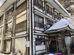 15:12  本日の宿 加仁湯温泉に到着しました。