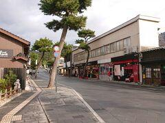門前町の神門通りに出て、出雲大社へ向かいます。