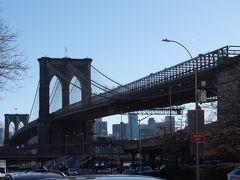 ブルックリン・ブリッジを歩いてブルックリンへ